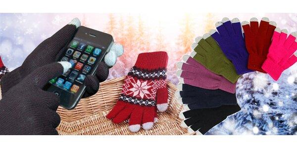 Speciální rukavice pro dotykové displeje