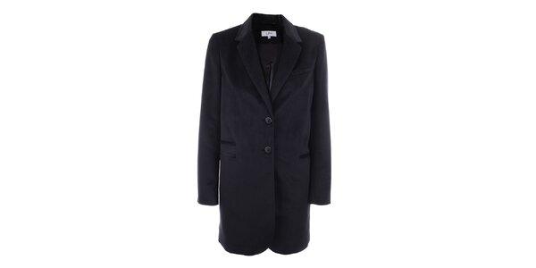 Dámské sako s knoflíky a tmavě modrou podšívkou inAvati