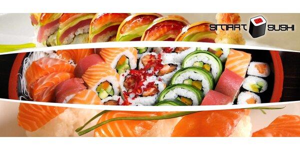 24 nebo 50 ks sushi s sebou ze Smart Sushi na Proseku