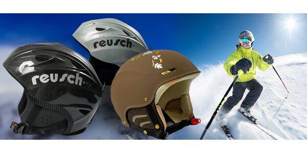 Kvalitní německé přilby Reusch na snowboard i lyže