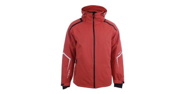 Pánská červená zimní bunda Joluvi