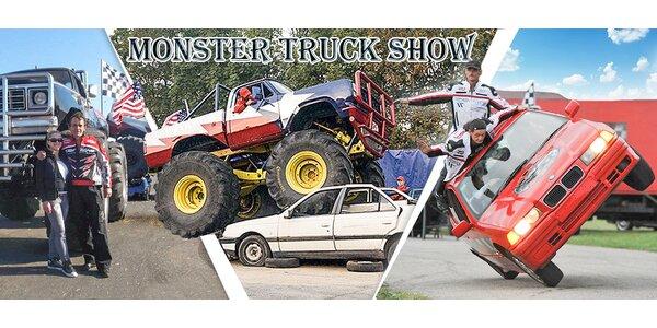 Pekelná Monster Truck Show v Brně