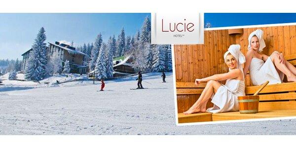 Šumava pro fandy sauny i lyží