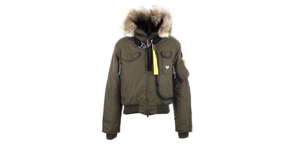 Dámská zimní army bunda Joluvi