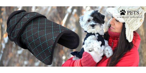 Nepromokavé a hřejivé oblečky pro psy