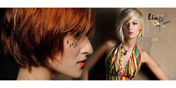 Střih, barva a péče o vlasy produkty Goldwell