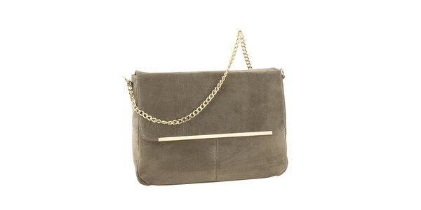 Dámská kožená kabelka se zlatým řetízkem Tina Panicucci