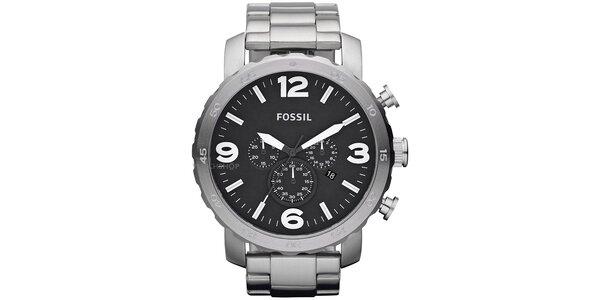 Pánské masivní hodinky z nerezové oceli Fossil