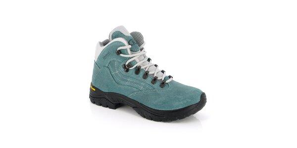 Dámské zelené kotníkové boty Kimberfeel