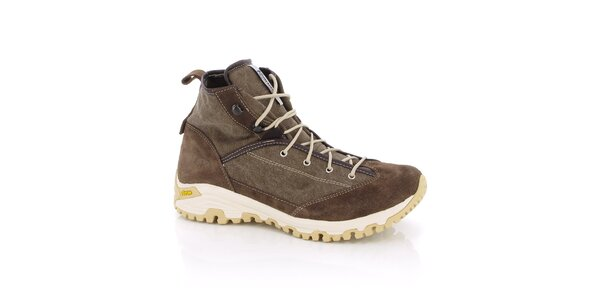 Dámské hnědé trekingové boty Kimberfeel