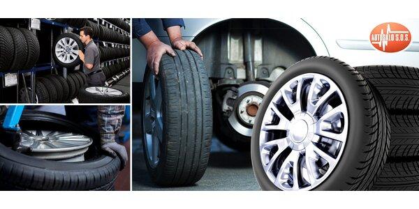 Přezutí letních pneumatik na zimní