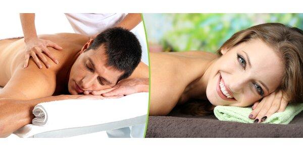 Uvolňující Breussova masáž a terapie zad Dornovou metodou nebo Regenerační…