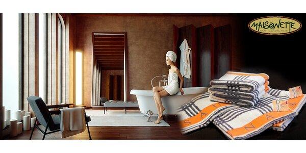 Sady ručníků a osušek Sauna z kvalitní bavlny