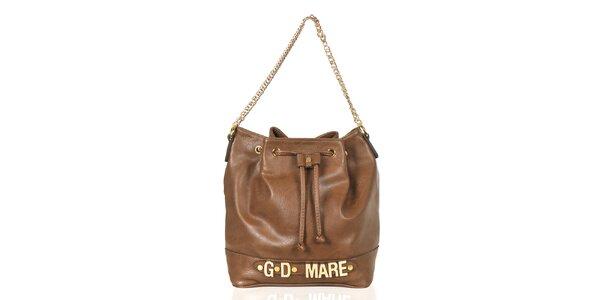 Dámská hnědá kabelka/batůžek Giorgio di Mare