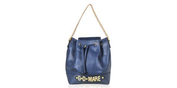 Dámská modrá kabelka/batůžek Giorgio di Mare