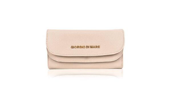 Dámská peněženka v pískovém odstínu Giorgio di Mare