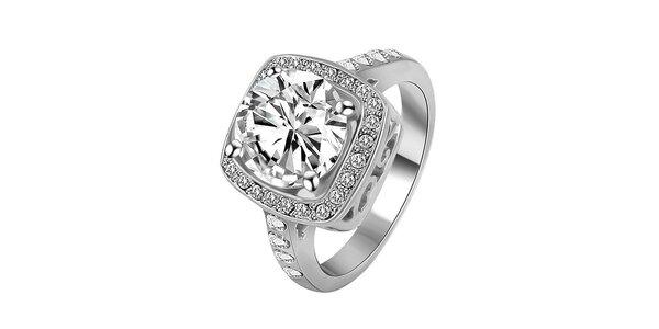 Dámský pozlacený prsten s krystaly Victoria de Bastilla