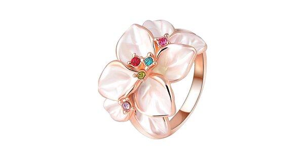 Dámský květinový prstýnek Victoria de Bastilla