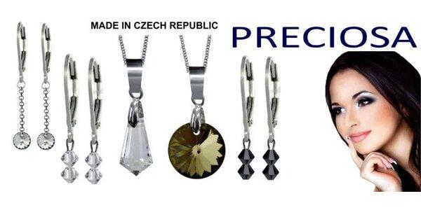 Šperky s křišťály Preciosa