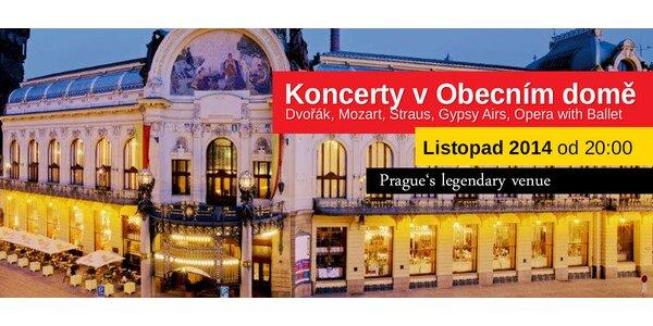 Koncerty ve Smetanově síni Obecního domu