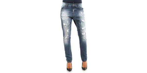 Dámské džíny s potrhaným efektem Isabel Queen