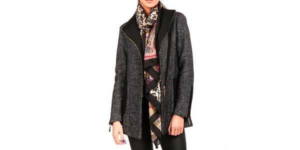 Dámský melírovaný kabát Isabel Queen