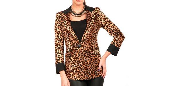 Dámské leopardí delší sáčko Isabel Queen