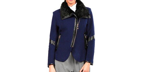Dámský modrý kabátek Isabel Queen