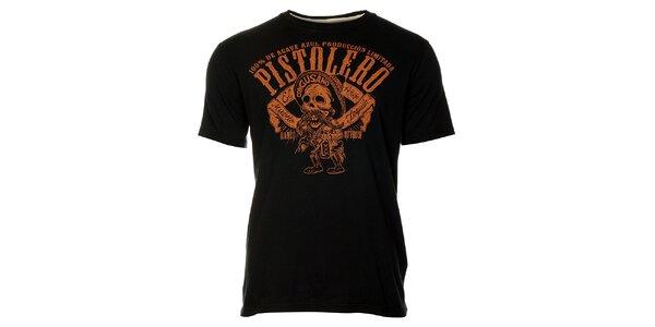 Pánské černé tričko Timeout