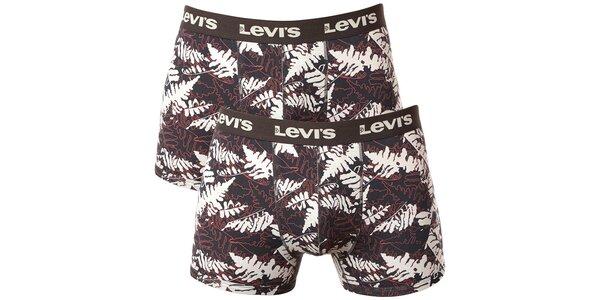 Set 2 pánských vzorovaných boxerek Levi's
