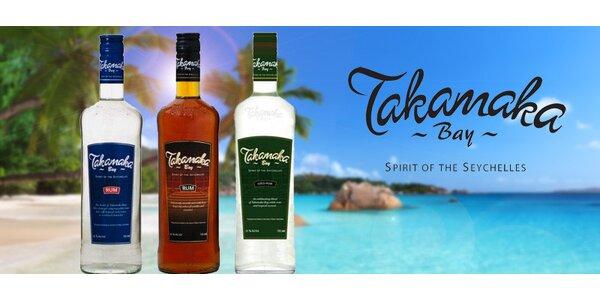 Rumy Takamaka ze Seychelských ostrovů