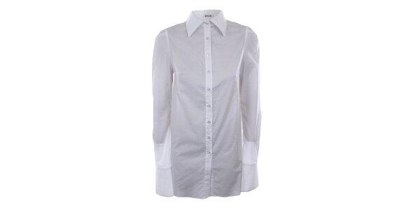 Dámská dlouhá bílá košile Gene