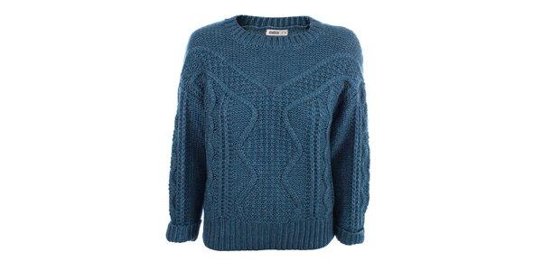 Dámský modrý pletený svetr Big Star