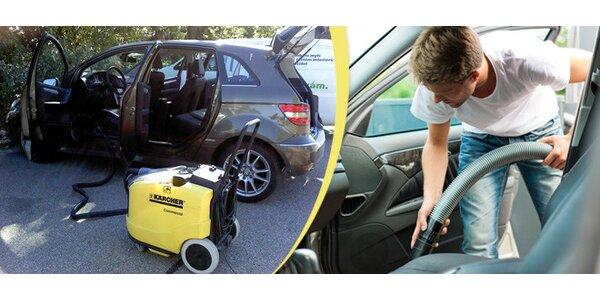 Kompletní tepování auta - sedačky, kufr a strop