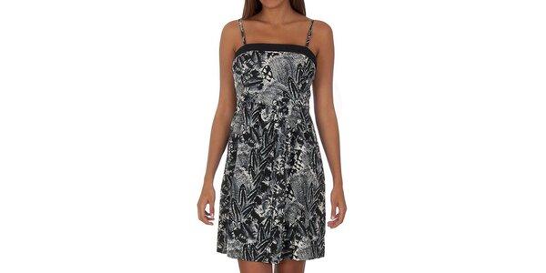 Dámské vzorované šaty s tenkými ramínky Vero Moda
