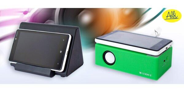 Silikonový reproduktor nebo magnetický zesilovač