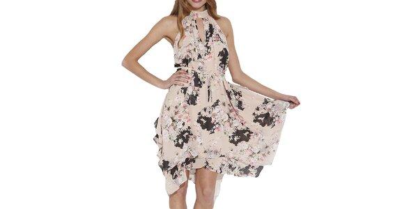 Dámské šaty s květinami Angel Eye