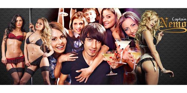 Žhavá děvčata a ledové drinky v Cabaretu Captain Nemo