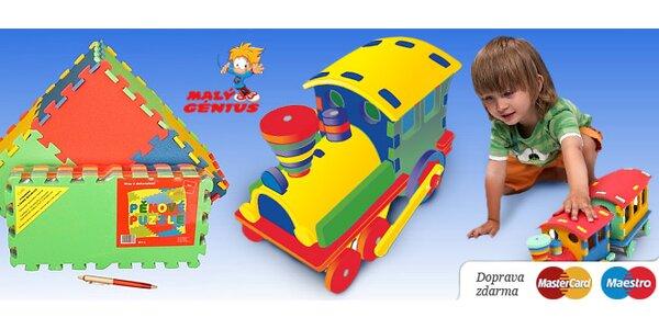 Dětský pěnový koberec či 3D puzzle