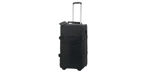 Černá cestovní taška na kolečkách ESPRIT