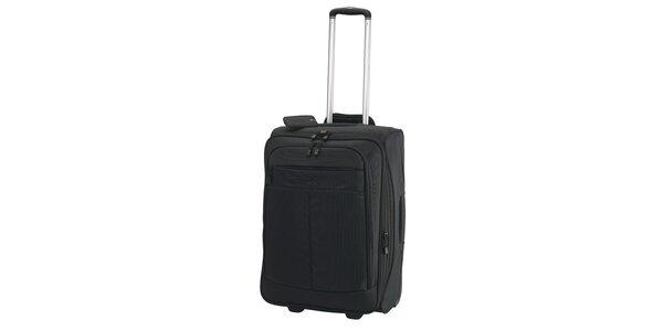 Černý kufřík na kolečkách ESPRIT