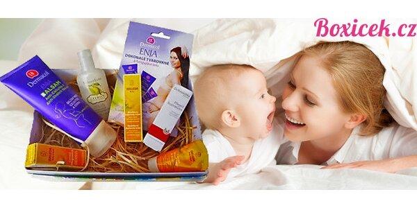 Boxíček - krabička plná kosmetiky pro děti a maminky