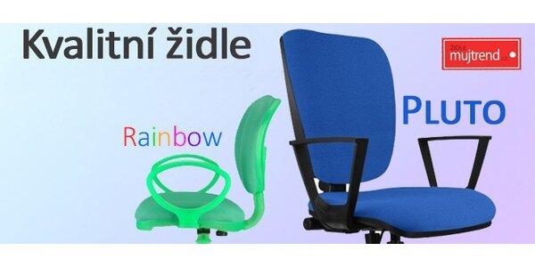Dětské a kancelářské židle