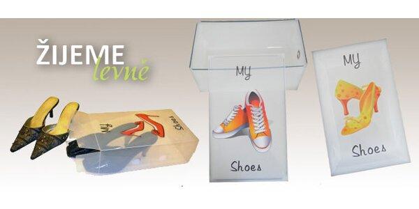 Trendy boxy na ukládání bot