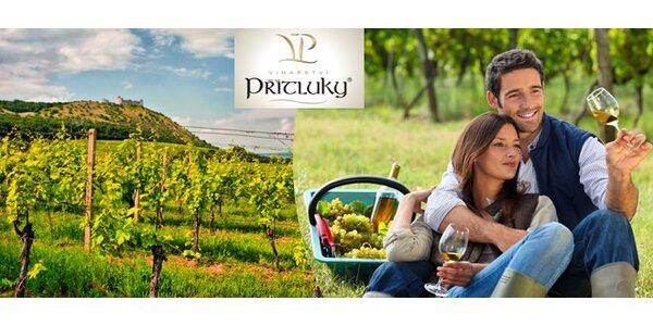 Vinařský pobyt s degustací a moravskou hostinou