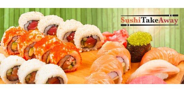 Výběr ze 3 sushi setů s sebou (30-38 ks i polévky)