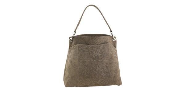 Dámská velká kožená kabelka Valentina Italy