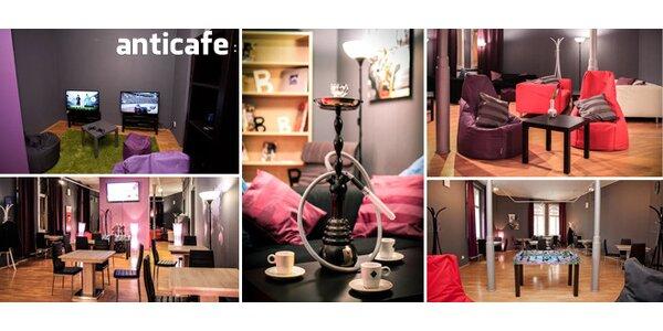 Anticafe - zábava a odpočinek v centru Prahy
