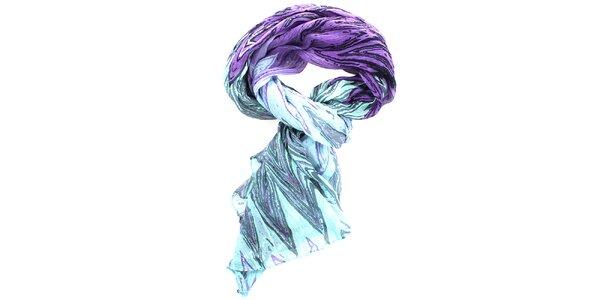 Dámská vzorovaný šátek Fraas