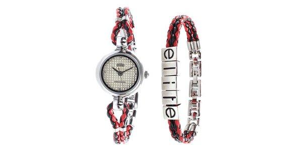 Dámské minimalistické hodinky a náramek Elite